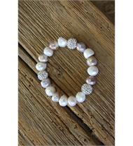 Armband Perlen vielfarbig