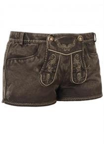 Damen Jeans braun - Gr.34