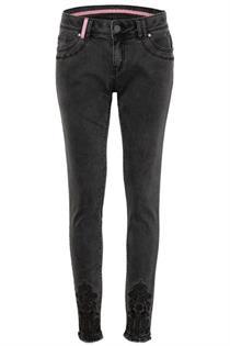 Damen Jeans dunkelgrau - Gr.34