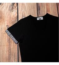 Damen Shirt schwarz EDW grau
