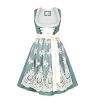 Dirndl Kurz Dolly petrol