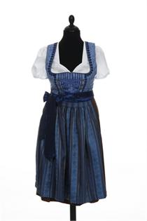 Dirndl Midi blau - Gr.44