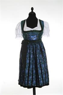 Dirndl Midi blau - Gr.54