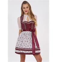 Dirndl Mini Netta bordeaux