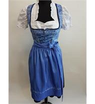 Dirndl Rosamunde blau