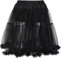 Dirndlpetticoat 65cm schwarz - S