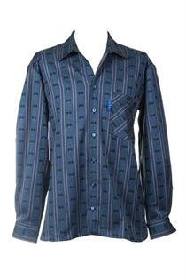 EDW Hemd d'blau MK/LA - L