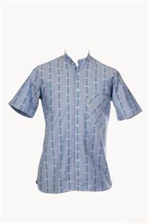 EDW Hemd h'blau OK/KA - L