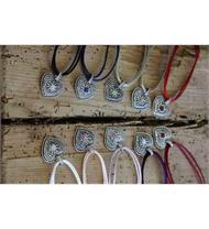 Halskette Herz mit St.