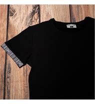 Herren Shirt schwarz EDW grau