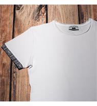 Herrenshirt mit Edelweissstoff in grau
