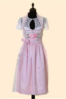 Hochzeitsdirndl Midi rosa - Gr.38