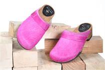 Holz Zoggel Fell pink - Gr.41