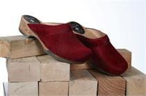 Holz Zoggel Fell rot - Gr.37