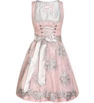 Kinderdirndl Beate inklusive Bluse rosa