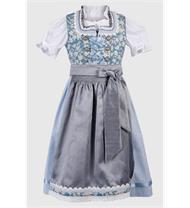 Kinderdirndl inklusive Bluse hellblau