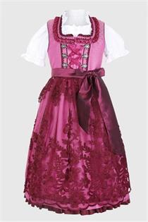 Kinderdirndl inklusive Bluse pink - Gr.122