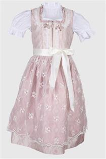 Kinderdirndl inklusive Bluse rose - Gr.104