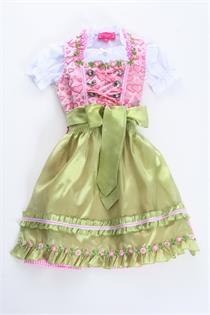Kinderdirndl rosa - Gr.80