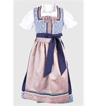 Krüger Kinderdirndl blau