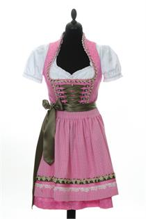 Krüger Mini Dirndl rose - Gr.30