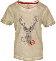 MarJo Shirt Jagdlied beige