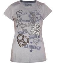MarJo Shirt Narrish graublau