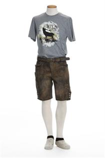 Marvelis Shirt grau Hirsch - M
