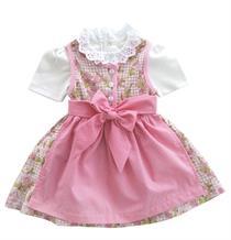 Mogo Kinderdirndl rosa - L