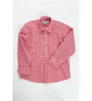 Trachten Kinderhemd rot