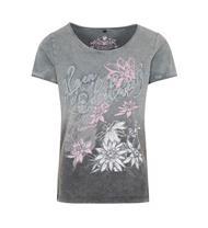 Trachten T-Shirt Carolin grau