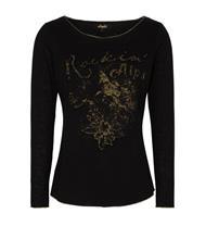 Trachten T-Shirt Hanka schwarz