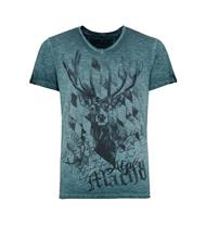Trachten T-Shirt Ivan türkis
