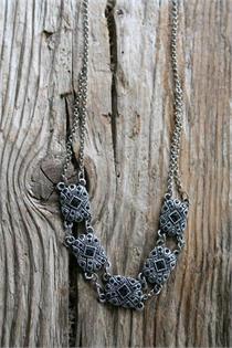 Trachtencollier - black diamond