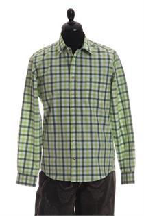 Trachtenhemd Slim Fit apple-tanne gross kariert - Gr.37/38