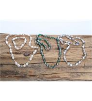 Trachtenschmuck Perlenkette und Perlenarmband