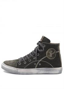 Trachtenschuh Sneaker schwarz - Gr.40