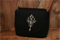 Trachtentasche schwarz